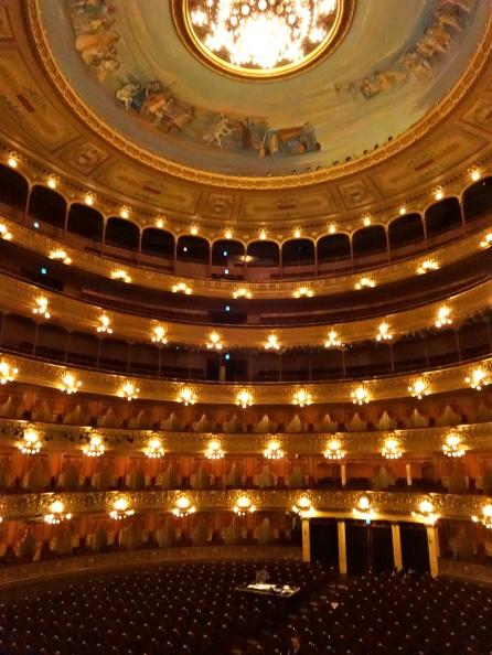 Inside Teatro Colón