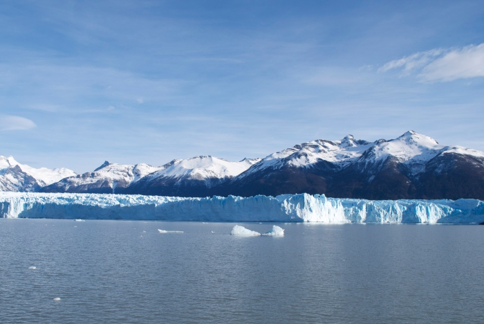 The south face of Perito Moreno (well, part of it).