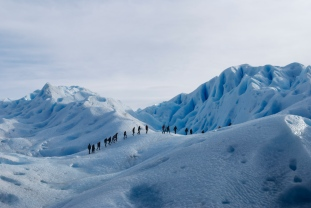 Trekking on Perito Moreno