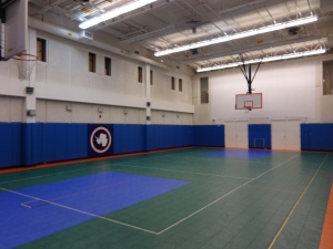 The South Pole gym