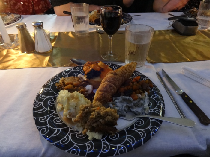 My amazing Thanksgiving dinner!