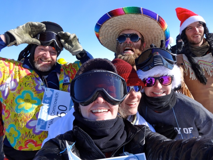 Pre-race selfie!