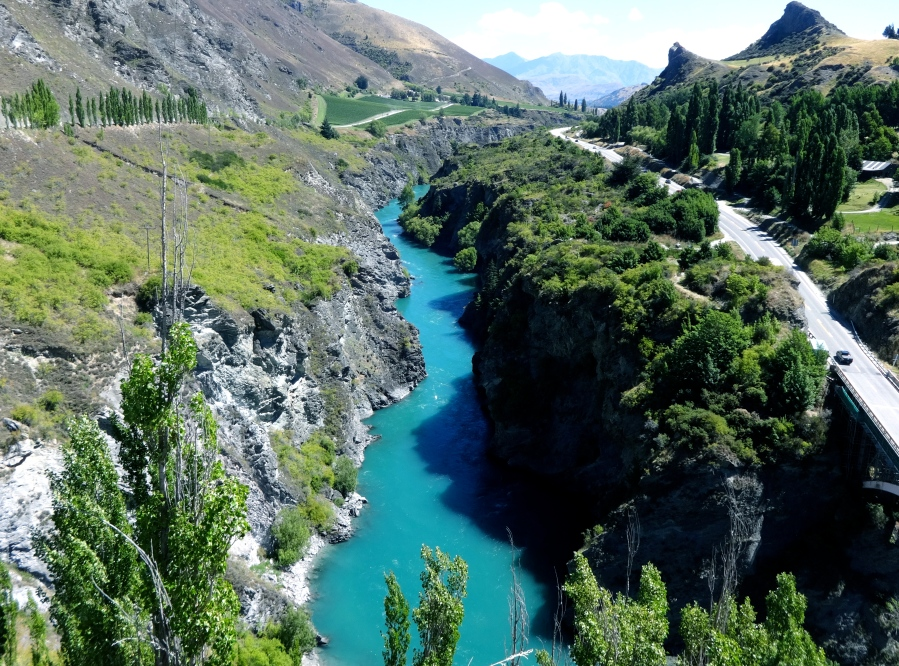 The river used to film the Argonath. (http://lotr.wikia.com/wiki/Argonath)