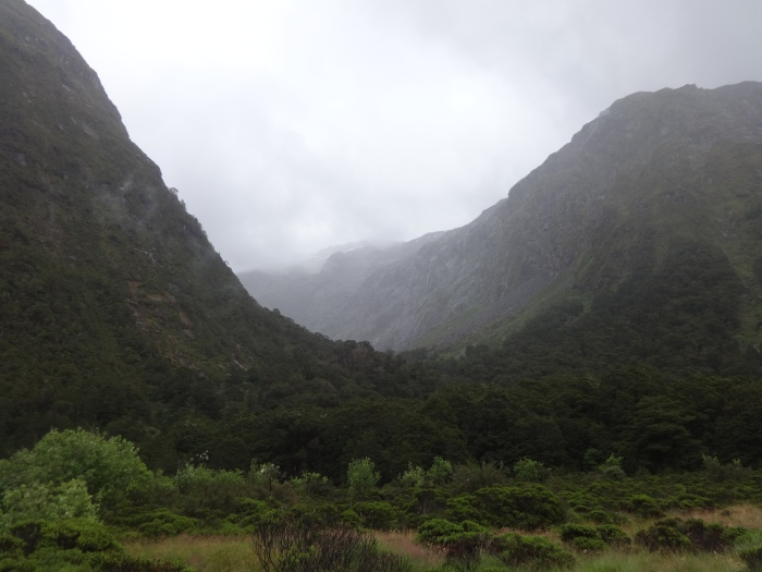 View of a hanging valley.