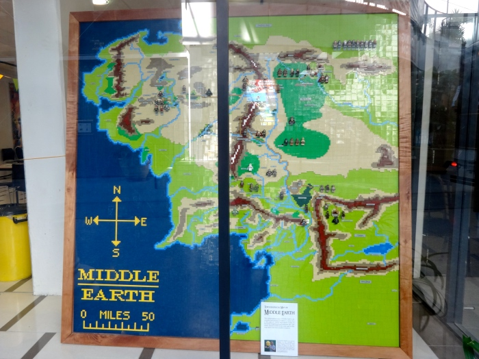 Lego map of Middle Earth!!