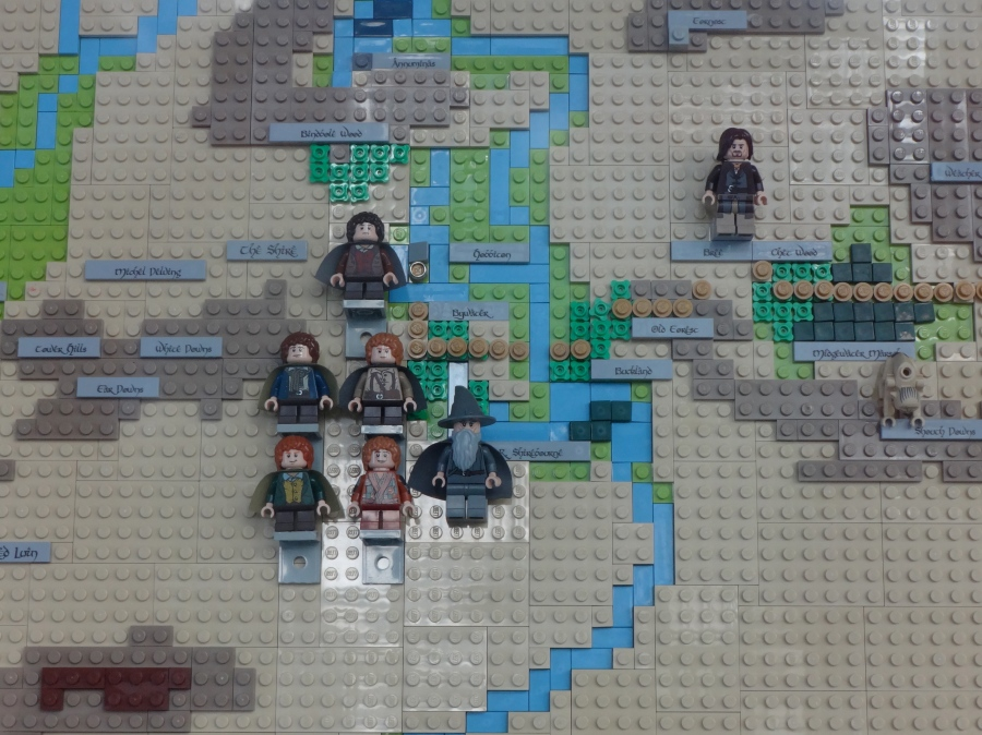 And little lego people!