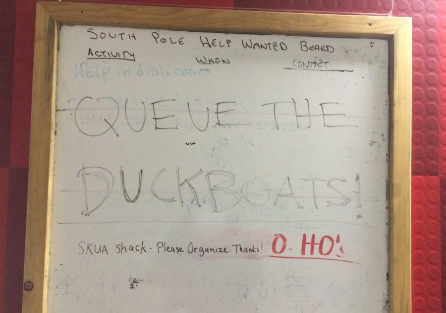 Queue the Duck boats!