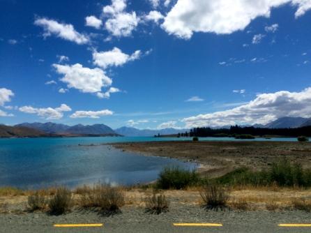 Lake Tekapu - Road