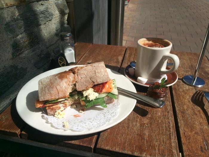 A wonderful lunch :)